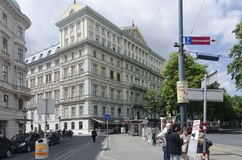 Hotel Imperial (Vienna/Austria) Stock Photo