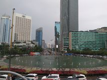 Hotel Indonesia di Bunderan Fotografie Stock