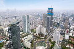 Hotel Indonesia Roundabout with BCA tower