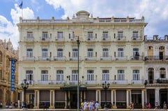 Hotel Inglaterra en La Habana, Cuba Imagenes de archivo