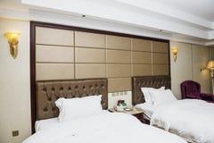 Hotel inside Royalty Free Stock Image