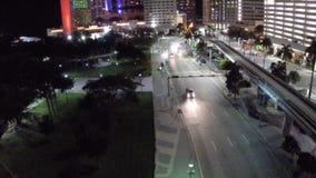 Hotel intercontinental céntrico de Miami almacen de video