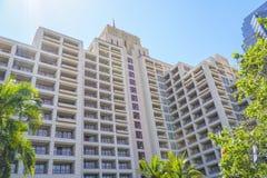 Hotel Intercontinental Los Angeles - LOS ANGELES - CALIFORNIA - APRIL 20, 2017 stock photo