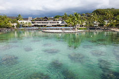 Hotel Intercontinental Papeete Royalty Free Stock Photos