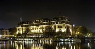 Hotel intercontinentale Amsterdam di Amstel Fotografie Stock