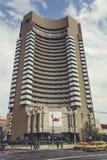 Hotel intercontinentale, Bucarest, Romania Fotografia Stock Libera da Diritti