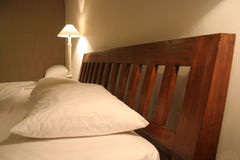 Hotel interior. Interior of a 5 star hotel bed room in a Tropical Country Royalty Free Stock Photography