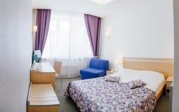 Hotel interior. Vizavi. Russia, Yekaterinburg Stock Photos