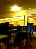 Hotel Interiors. Beautiful interiors in an Indian restaurant Stock Photo