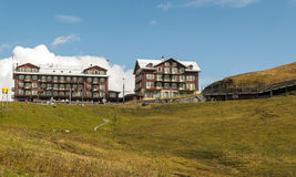 Hotel in interlaken Stock Photography