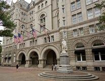 Hotel internacional del triunfo formalmente el pabellón viejo Washington, D de la oficina de correos C, Fotos de archivo libres de regalías