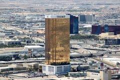 Hotel internacional del triunfo, Las Vegas Fotos de archivo libres de regalías