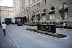 Hotel internacional do trunfo formalmente o pavilhão velho Washington da estação de correios, D C, Fotos de Stock Royalty Free