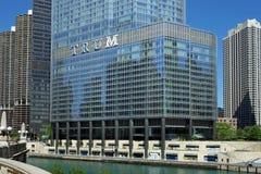 Hotel internacional e torre do trunfo Fotos de Stock