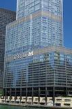 Hotel internacional e torre do trunfo Fotografia de Stock