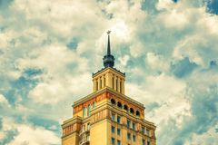 Hotel Internationaal Praag stock afbeeldingen