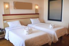 Hotel interno della stanza Immagini Stock Libere da Diritti