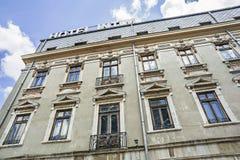 Hotel Intim en Constanta, Rumania Fotos de archivo