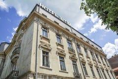 Hotel Intim en Constanta, Rumania Imagenes de archivo