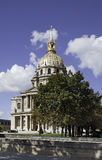 Hotel of Invalids in Paris. France Stock Photography