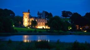 Hotel irlandese famoso del castello, costa ovest Irlanda Immagini Stock