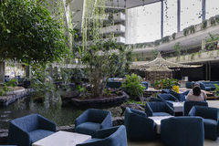 Hotel ist Live Grand Tequise Playa Lizenzfreies Stockfoto