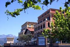 Hotel Italia del palacio de Sorrento imagenes de archivo