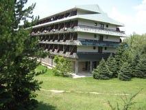 Hotel, Ivo Andric, Nobel, Moravica Sokobanja Servië stock afbeelding