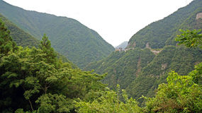 Hotel Iya Onsen in Iya valley in Japan Royalty Free Stock Image