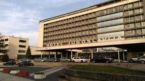 Hotel Jugoslavija Stockbilder