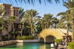 Hotel Jumeirah Al Qasr royalty-vrije stock fotografie