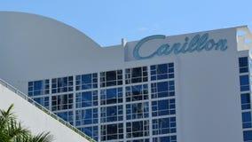 Hotel 4k del carillón de Miami Beach metrajes