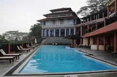 The hotel in Kandy Royalty Free Stock Images
