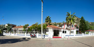 Hotel Karbel Beach Royalty Free Stock Photo
