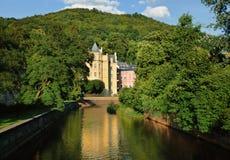 Hotel in Karlovy Varн Stock Image