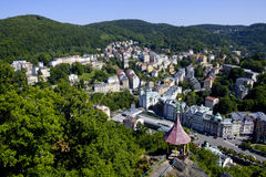 Hotel in Karlovy Vary Royalty Free Stock Images