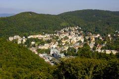 Hotel in Karlovy Vary Royalty Free Stock Image