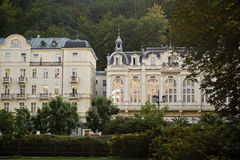 Hotel in Karlovy Vary Stock Photography