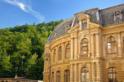 Hotel in Karlovy Vary. (Carlsbad). Architecture stock images