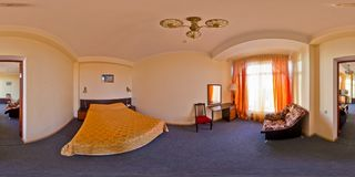 Hotel Kaukasus Sochi, Adler-Bezirk Stockfoto