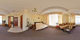 Hotel Kaukasus Sochi, Adler-Bezirk Stockfotografie