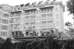 Hotel in Kemer Stock Afbeelding
