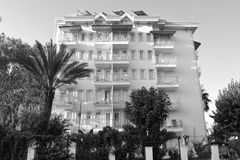 Hotel in Kemer Royalty-vrije Stock Afbeeldingen