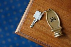 Hotel key Stock Photos