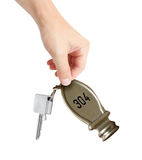 Hotel key Royalty Free Stock Images
