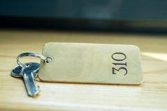 Hotel key Stock Images