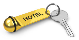 The hotel key Stock Images