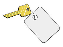 Hotel key Royalty Free Stock Photo