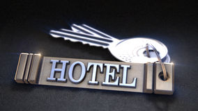 Hotel keys Concept Royalty Free Stock Image