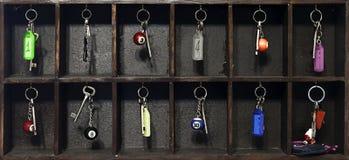 Hotel keys Royalty Free Stock Images